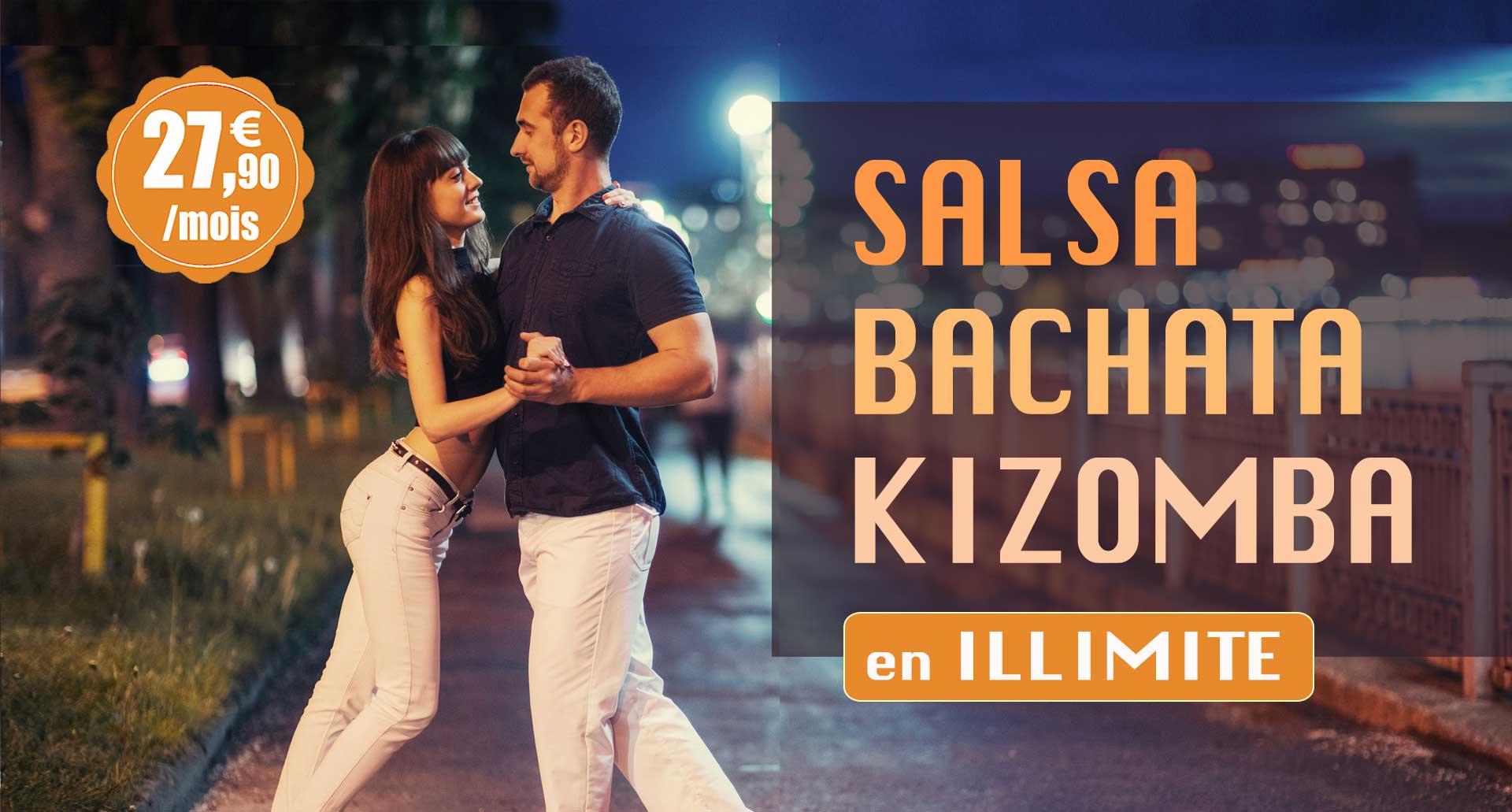 Ecole de danse Montpellier, Cours salsa bachata kizomba Latin danse