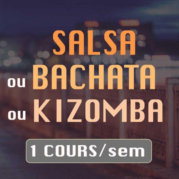 Formule cours de danse Salsa bachata Kizomba de l'ecole de danse Danz'nCo à Montpellier