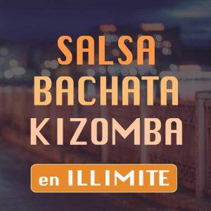 Formule cours de danse illimité Salsa bachata Kizomba de l'ecole de danse Danz'nCo à Montpellier