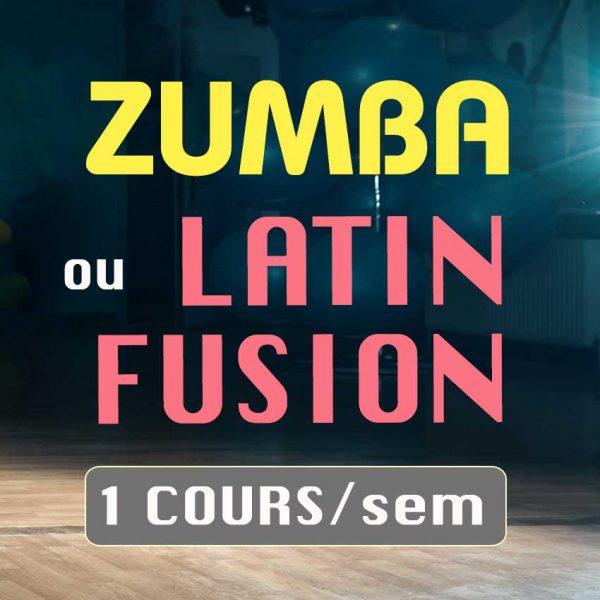 Formule cours de danse Zumba Latin Fusion de l'ecole de danse Danz'nCo à Montpellier