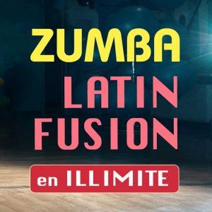 Formule cours de danse Zumba illimite Latin Fusion de l'ecole de danse Danz'nCo à Montpellier