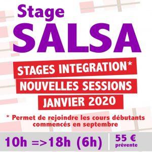 sTAGE salsa montpellier debutant janvier